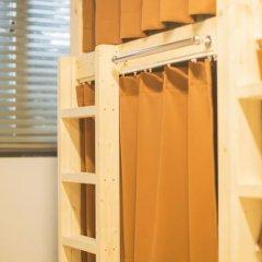 KW Hongdae Hostel Кровать в женском общем номере с двухъярусной кроватью фото 5
