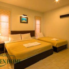 Отель Phuket Garden Home Стандартный номер с двуспальной кроватью фото 8