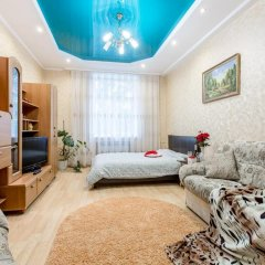 Апартаменты Guide Of Minsk Apartments Nezavisimosti Lido Минск комната для гостей фото 3