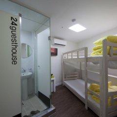 Отель 24 Guesthouse Seoul City Hall 2* Стандартный номер с двухъярусной кроватью фото 4