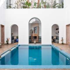 Отель Riad Zyo Марокко, Рабат - отзывы, цены и фото номеров - забронировать отель Riad Zyo онлайн бассейн фото 2
