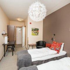 Отель Hotell Fridhemsgatan 3* Стандартный номер с различными типами кроватей фото 5