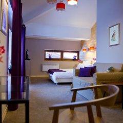 Гостевой дом Резиденция Парк Шале Номер Делюкс с различными типами кроватей фото 4