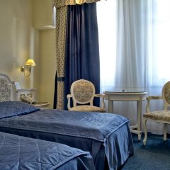 TOP Hotel Ambassador-Zlata Husa 4* Стандартный номер с разными типами кроватей фото 13