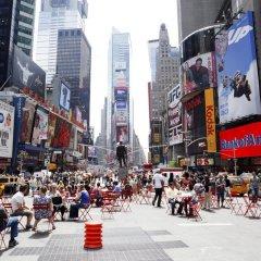 Отель Econo Lodge Times Square США, Нью-Йорк - 1 отзыв об отеле, цены и фото номеров - забронировать отель Econo Lodge Times Square онлайн городской автобус