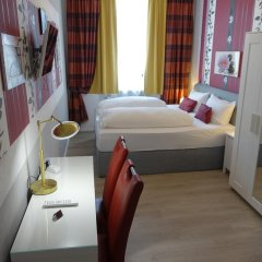 Hotel Villa Konstanz Берлин комната для гостей фото 4