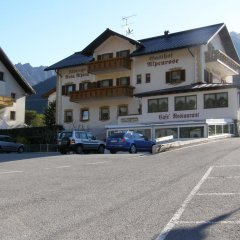 Hotel Restaurant Alpenrose Горнолыжный курорт Ортлер парковка