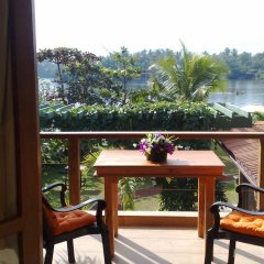 Отель Thumbelina Apartments & Hotel Шри-Ланка, Бентота - отзывы, цены и фото номеров - забронировать отель Thumbelina Apartments & Hotel онлайн балкон