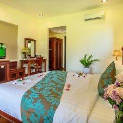 Отель Agribank Hoi An Beach Resort 3* Номер Делюкс с различными типами кроватей фото 17