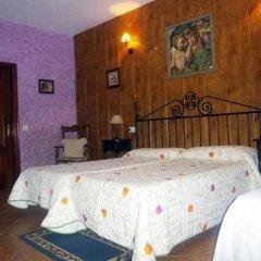 Hotel Rural Soterraña 3* Стандартный семейный номер с двуспальной кроватью