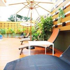 Отель Prom Ratchada Residence Таиланд, Бангкок - отзывы, цены и фото номеров - забронировать отель Prom Ratchada Residence онлайн бассейн фото 2