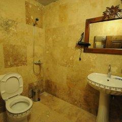 Kardesler Cave Suite Турция, Ургуп - отзывы, цены и фото номеров - забронировать отель Kardesler Cave Suite онлайн ванная фото 3