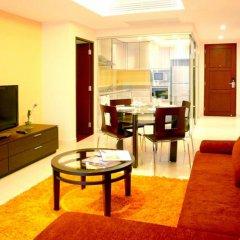 Отель Seven Place Executive Residences Люкс