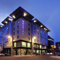 Отель Novotel Glasgow Centre вид на фасад фото 2