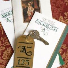 Hotel Andreotti 3* Стандартный номер с различными типами кроватей фото 6