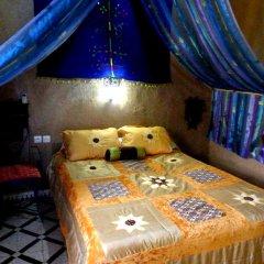 Отель Гостевой дом La Vallée des Dunes Марокко, Мерзуга - отзывы, цены и фото номеров - забронировать отель Гостевой дом La Vallée des Dunes онлайн комната для гостей фото 5