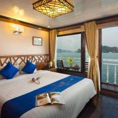 Отель Gray Line Halong Cruise 4* Номер Делюкс фото 8