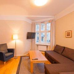 Отель Hellsten Helsinki Parliament 3* Улучшенная студия с разными типами кроватей фото 4