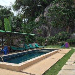 Отель Private lodge beachside & pet for children Таиланд, Самуи - отзывы, цены и фото номеров - забронировать отель Private lodge beachside & pet for children онлайн бассейн фото 2