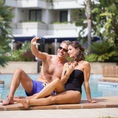 Отель Hipotels Sherry Park Испания, Херес-де-ла-Фронтера - 1 отзыв об отеле, цены и фото номеров - забронировать отель Hipotels Sherry Park онлайн бассейн фото 3