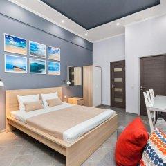 Мини-Отель Брусника Полежаевская Стандартный номер с различными типами кроватей фото 15
