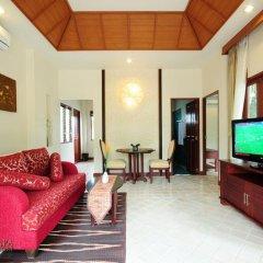 Отель Bhumlapa Garden Resort 3* Вилла Делюкс с различными типами кроватей фото 6