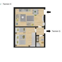 Отель Flatinrome - Termini удобства в номере фото 2