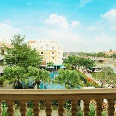 Отель Thanh Binh Riverside Hoi An 4* Стандартный номер с различными типами кроватей фото 6