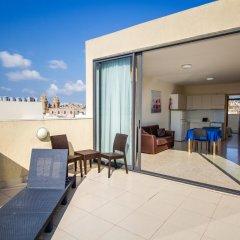 Blubay Apartments by ST Hotel Гзира балкон