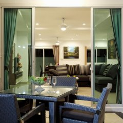 Отель Kata Hill View Villas by Kata Sea View Villas балкон