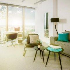Отель Apartamenty Sky Tower Студия с различными типами кроватей