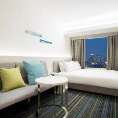Hotel Nikko Osaka 4* Улучшенный номер с различными типами кроватей фото 3