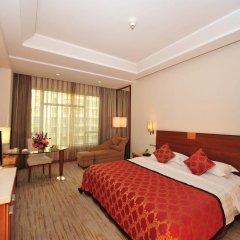Отель Ramada Plaza Guangzhou 3* Номер Делюкс с различными типами кроватей фото 3