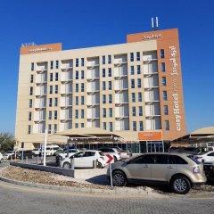 Отель easyHotel Dubai Jebel Ali парковка