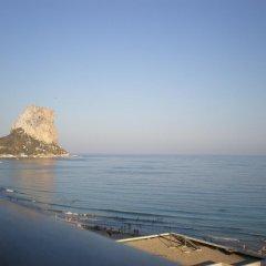 Отель Apartamentos Albamar II пляж