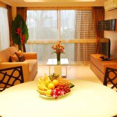 Отель I Am Residence 3* Улучшенные апартаменты с двуспальной кроватью фото 14