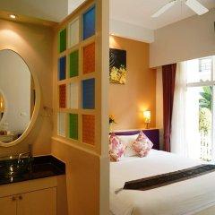 Отель The Beach Boutique House 3* Улучшенный номер с различными типами кроватей фото 7