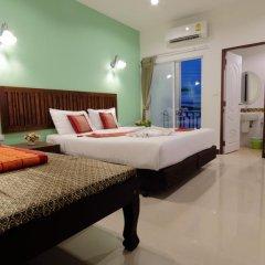 Отель BS Airport at Phuket 3* Стандартный номер с различными типами кроватей фото 12
