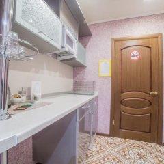 Гостиница Теремок Заволжский Апартаменты разные типы кроватей фото 10