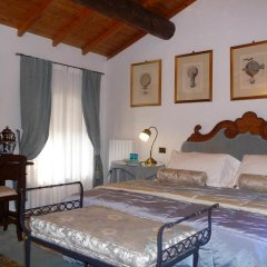 Отель Country House Casino di Caccia Стандартный номер с различными типами кроватей фото 16