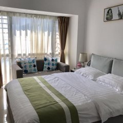 Апартаменты Shenzhen Wozhan Apartment K K Mall Улучшенные апартаменты с различными типами кроватей фото 5