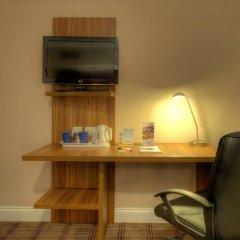 Отель Comfort Inn St Pancras - Kings Cross 3* Стандартный номер с различными типами кроватей фото 2