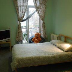 Хостел на Красном Семейный номер категории Эконом с двуспальной кроватью
