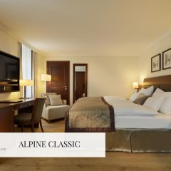 Отель Mont Cervin Palace 5* Стандартный номер с двуспальной кроватью фото 2