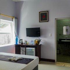 Отель The Moon Villa Hoi An 2* Стандартный семейный номер с различными типами кроватей фото 23