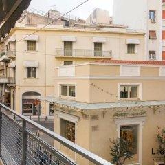 Апартаменты Lekka 10 Apartments балкон