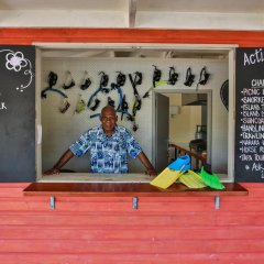 Отель Wananavu Beach Resort детские мероприятия