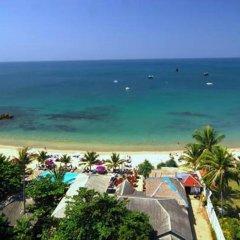 Отель Lanta Palace Resort And Beach Club пляж фото 2