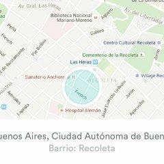 Отель Exclusivo Departamento En Park Plaza Recoleta с домашними животными