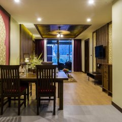 Отель Ao Nang Phu Pi Maan Resort & Spa 4* Люкс с различными типами кроватей фото 12